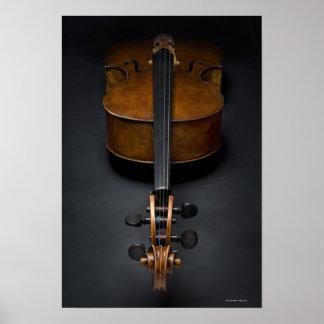 Antique Cello Poster