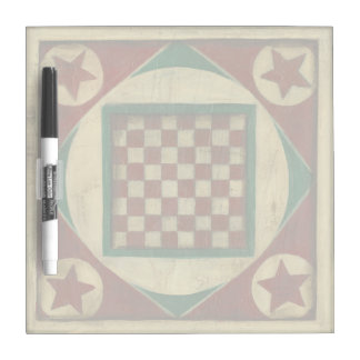 Antique Checkerboard by Ethan Harper Dry Erase White Board