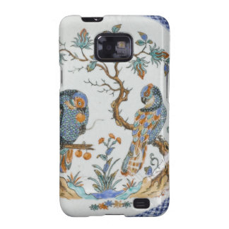 Antique chinoiserie bird porcelain china pattern samsung galaxy s2 cases