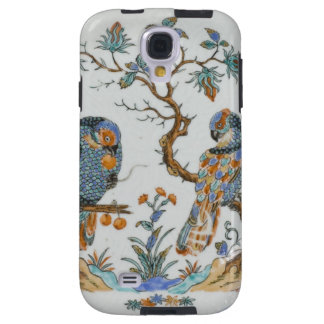 Antique chinoiserie bird porcelain china pattern galaxy s4 case