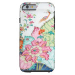 Antique chinoiserie china porcelain bird pattern tough iPhone 6 case