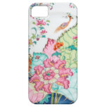 Antique chinoiserie china porcelain bird pattern iPhone 5/5S covers