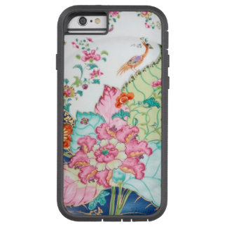 Antique chinoiserie china porcelain bird pattern tough xtreme iPhone 6 case