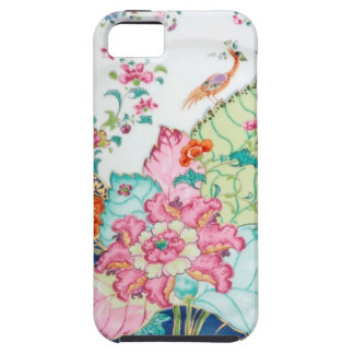 Antique chinoiserie china porcelain bird pattern iPhone 5 case