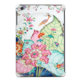Antique chinoiserie china porcelain bird pattern iPad mini retina covers