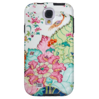 Antique chinoiserie china porcelain bird pattern galaxy s4 case