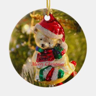 Antique Christmas Bear Ornament
