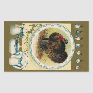 Antique Clapsaddle Thanksgiving Sticker