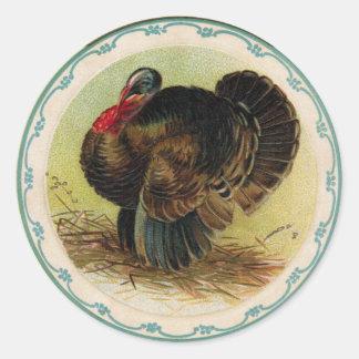 Antique Clapsaddle Turkey Sticker