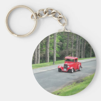antique classic car show pic raw 002 keychain