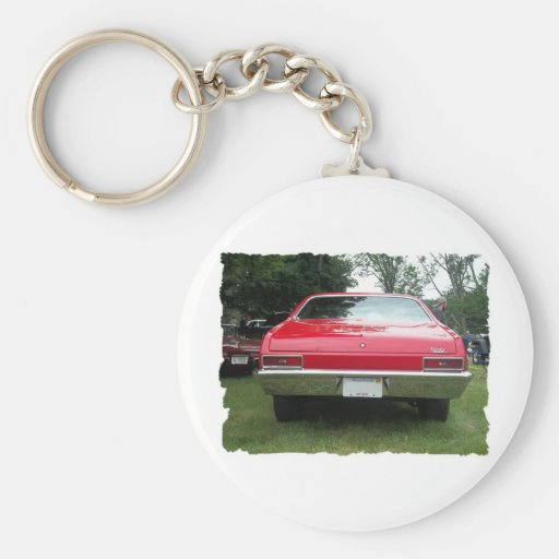 antique classic car show pic raw 017 keychain