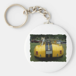 antique classic car show pic raw 018 keychain