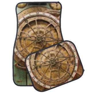 Antique clock face, Germany Car Mat