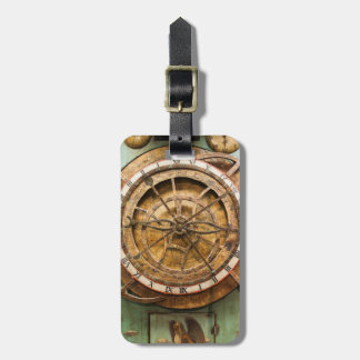 Antique clock face, Germany Luggage Tag