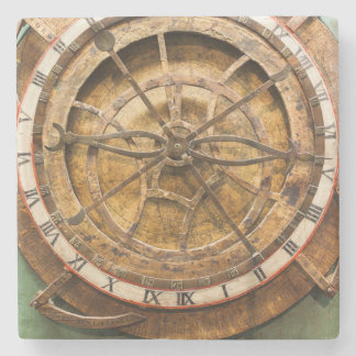 Antique clock face, Germany Stone Coaster