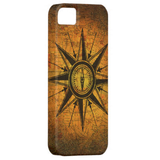 Antique Compass Rose Barely There iPhone 5 Case