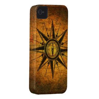 Antique Compass Rose iPhone 4 Cases