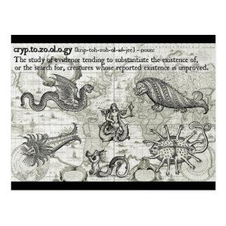 Antique Cryptozoology Postcards