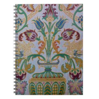 Antique Damask Spiral Notebook