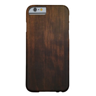 Antique Dark Wood Design Barely There iPhone 6 Case