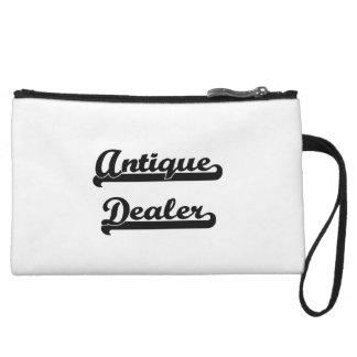 Antique Dealer Artistic Job Design Wristlet Clutch