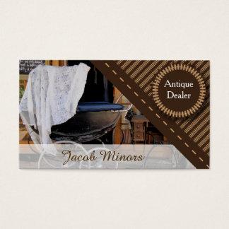 Antique Dealer Business Card