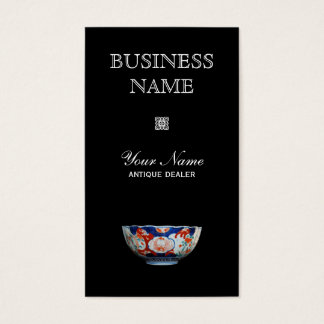 Antique Dealer Business Card