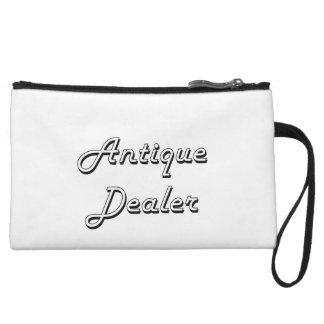 Antique Dealer Classic Job Design Wristlet Purses