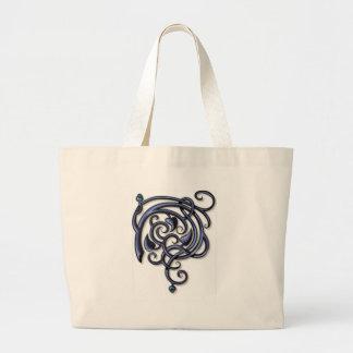 Antique Decorative Flourishes Jumbo Tote Bag