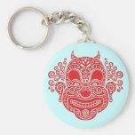 Antique Devil Clown Keychain
