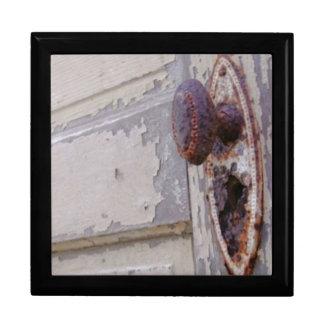 Antique Door Tile-top Jewerly Gift Box