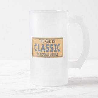 Antique Driver Classic Car Mug