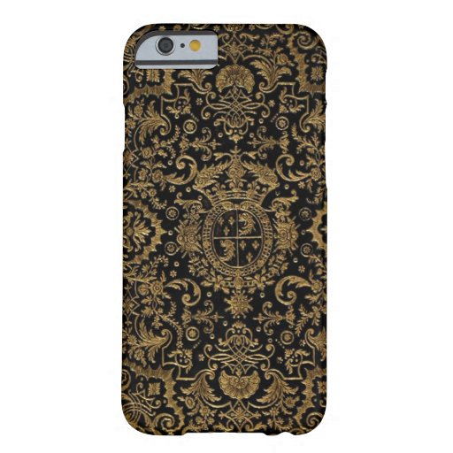 Antique Dubuisson French Leather book cover iPhone 6 Case