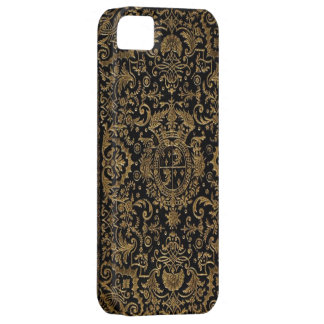 Antique Dubuisson French Leather book cover iPhone 5 Cases