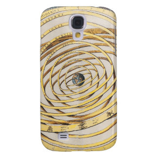 Antique Earth Celestial Map Samsung Galaxy S4 Cover