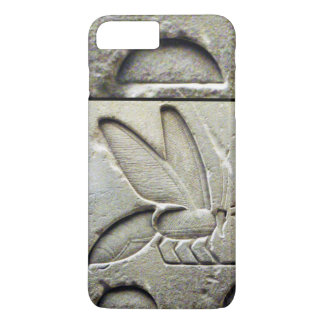 ANTIQUE EGYPTIAN HONEY BEE BEEKEEPER Black White iPhone 7 Plus Case