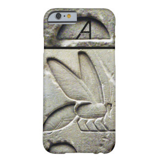 ANTIQUE EGYPTIAN HONEY BEE BEEKEEPER MONOGRAM BARELY THERE iPhone 6 CASE
