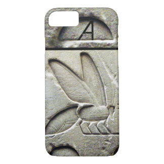 ANTIQUE EGYPTIAN HONEY BEE BEEKEEPER MONOGRAM iPhone 7 CASE