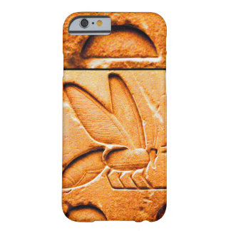 ANTIQUE EGYPTIAN HONEY BEE BEEKEEPER Orange Yellow Barely There iPhone 6 Case
