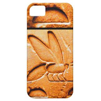 ANTIQUE EGYPTIAN HONEY BEE BEEKEEPER Orange Yellow iPhone 5 Case