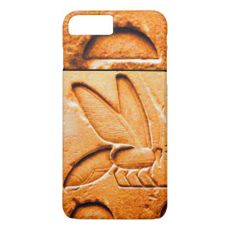 ANTIQUE EGYPTIAN HONEY BEE BEEKEEPER Orange Yellow iPhone 7 Plus Case