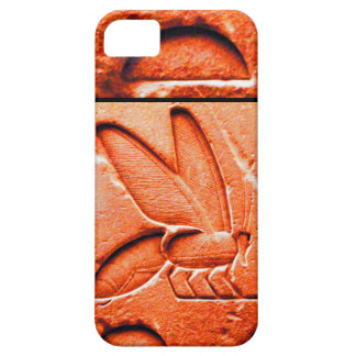 ANTIQUE EGYPTIAN HONEY BEE BEEKEEPER Red Case For The iPhone 5