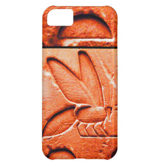 ANTIQUE EGYPTIAN HONEY BEE BEEKEEPER Red iPhone 5C Case