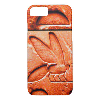 ANTIQUE EGYPTIAN HONEY BEE BEEKEEPER Red iPhone 7 Case