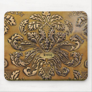 Antique Embossed Leather Look  Mouse Pad