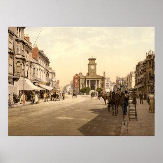 Antique England, Worthing, West Sussex U.K. Poster