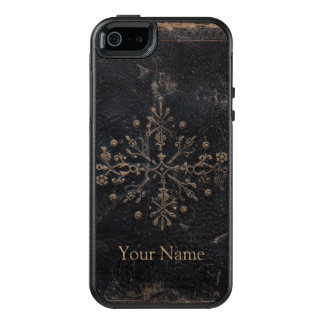 Antique Faded Gold Leaf Ornate Book OtterBox iPhone 5/5s/SE Case