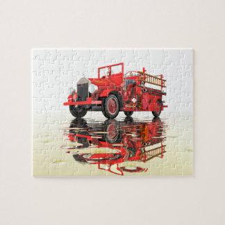 Antique Fire Engine jigsaw puzzle