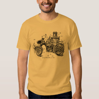 Antique Fire Engine shirt