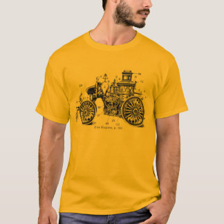 Antique Fire Engine shirt